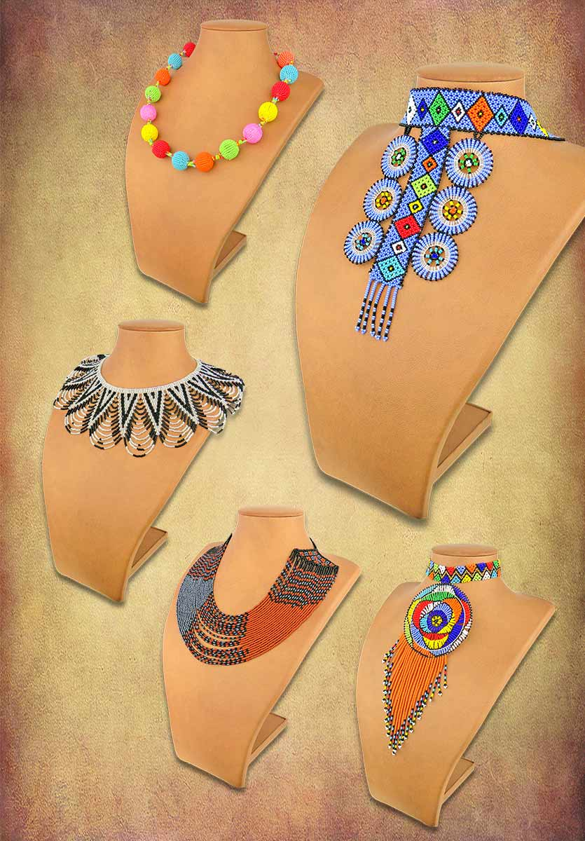 African Beaded Necklaces