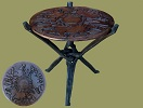 African Furniture Table