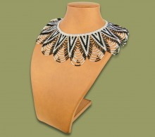 African Beaded Necklaces Zulu Spear Fringe