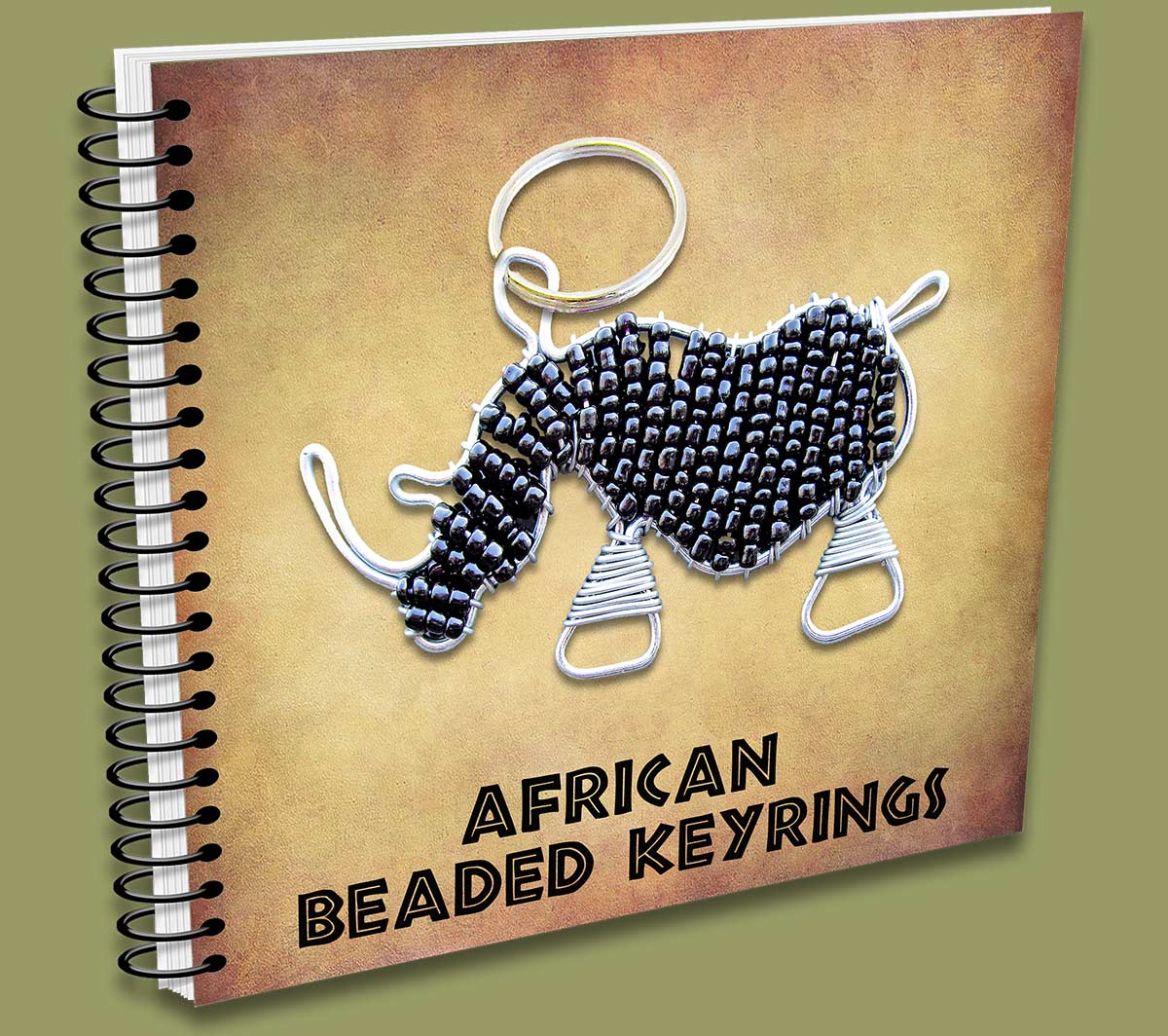 African Beaded Keyrings Resellers Catalogue