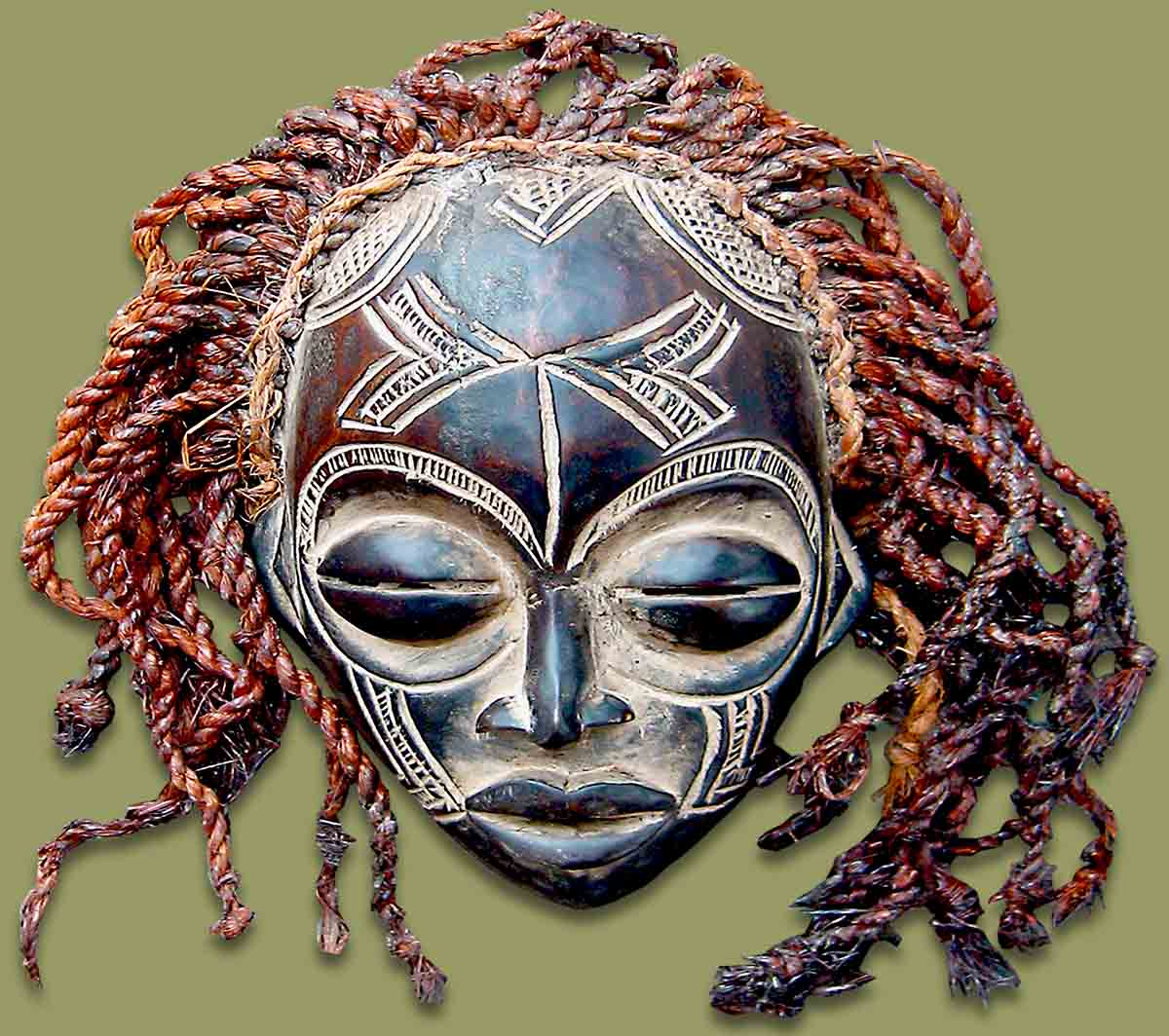 Masks From Africa African Mask Chokwe Female