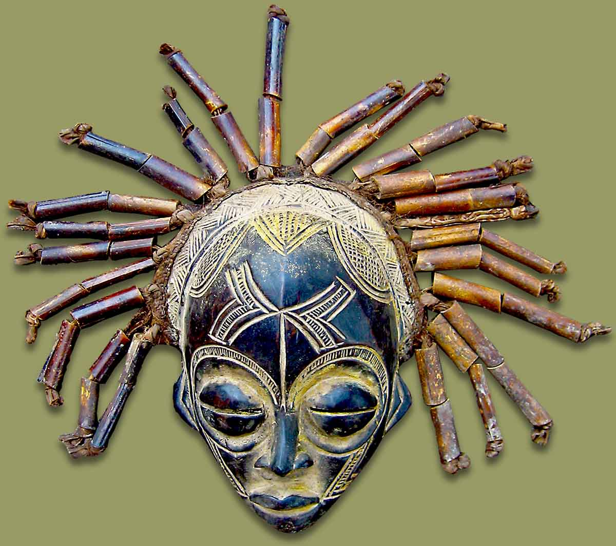 Masks From Africa African Mask Chokwe Male