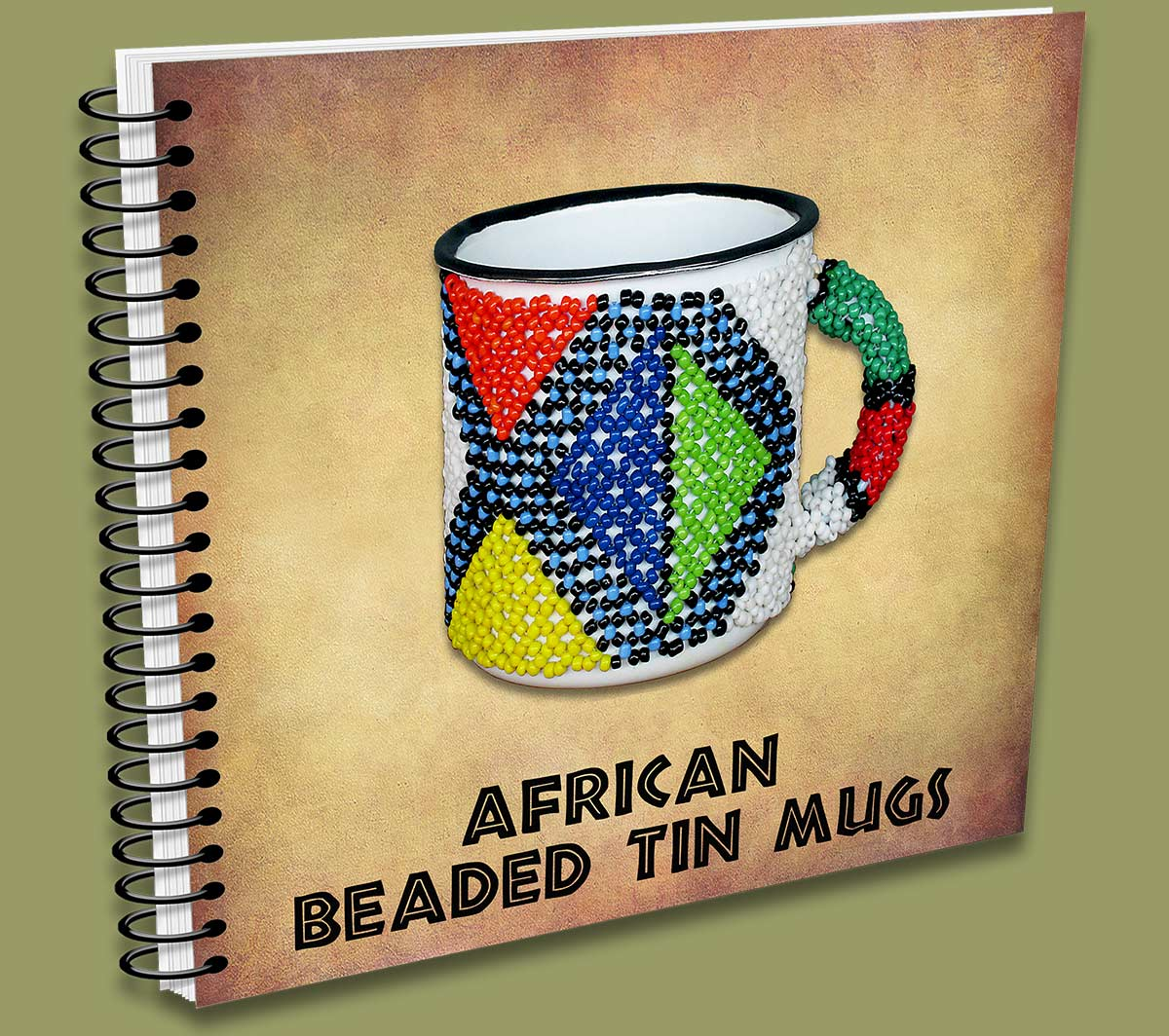 African Beaded Tin Mugs Resellers Catalogue