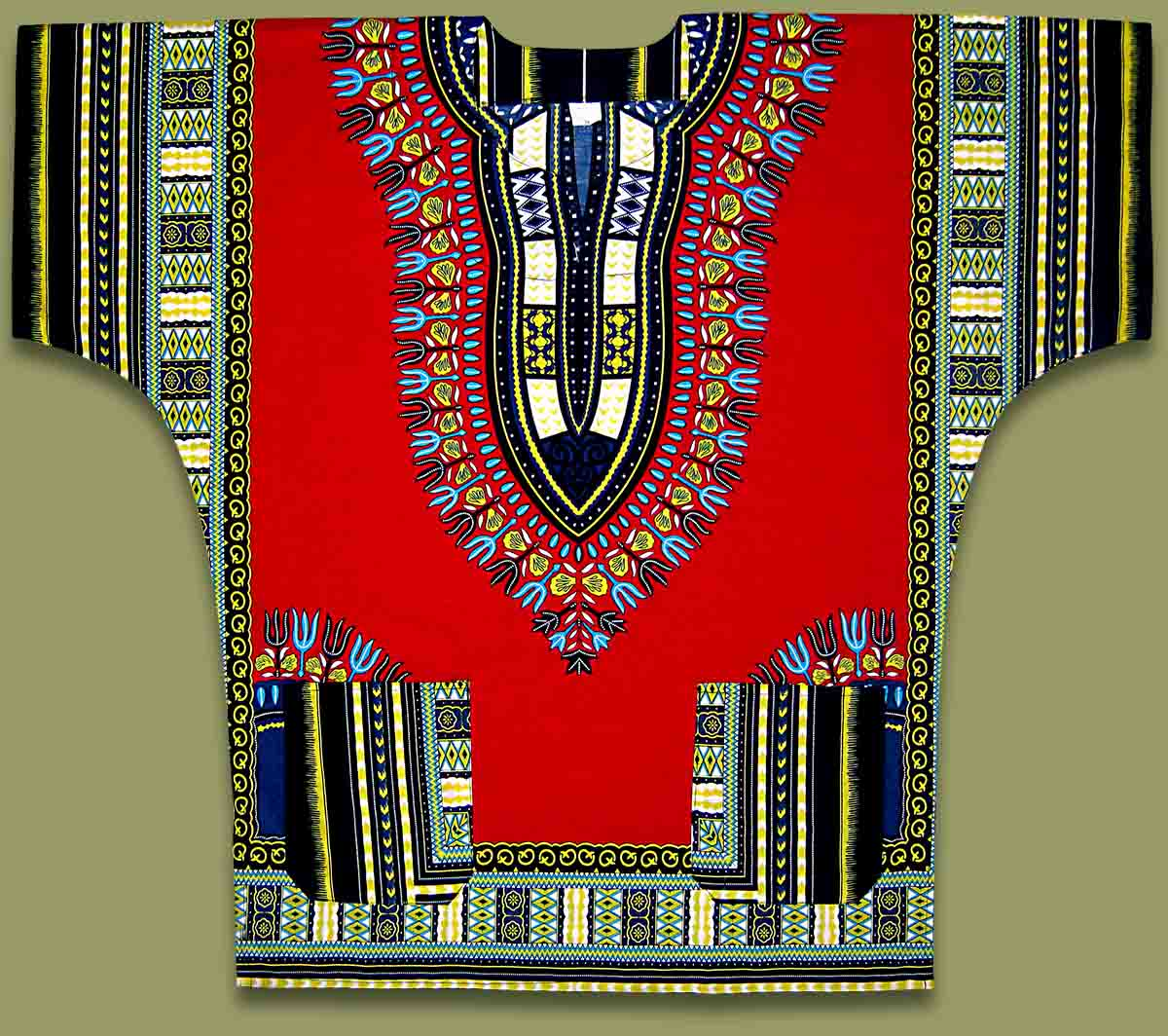 African Shirt Red