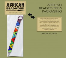 Packaging African Beaded Pens