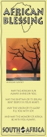African Bookmark Sunset