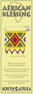 African Bookmark Zulu Love Letter