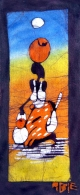 African Wax Batik Mother And Child