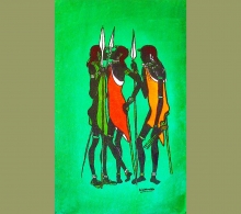 African Wax Batiks Warriors
