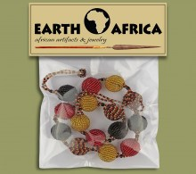 All Beaded Necklace Packaging Ntombi