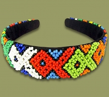 Beaded Alice Bands Wide Fish