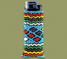 Beaded Cigarette Lighter.1
