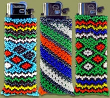 Beaded Cigarette Lighters
