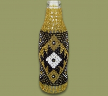 Beaded Coke Bottle.1