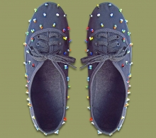 African Beaded Tekkie