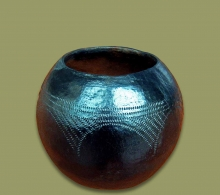 African Clay Pot Size.2