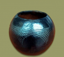 African Clay Pot Size.3