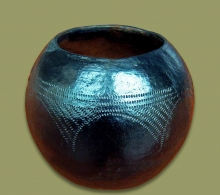 African Clay Pot Size.4