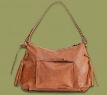 Leather Handbag Tsavo Waxy Tan