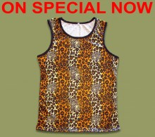 ON SPECIAL Leopard Print Vest