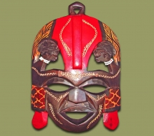 Maasai Kissing Mask