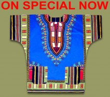 ON SPECIAL African Shirts