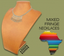 Mixed Fringe Necklaces