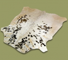 Nguni Hide.17 White Black Markings - A GRADE HIDE