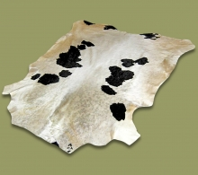 Nguni Hide.18 White Black Markings - A GRADE HIDE