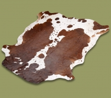 Nguni Hide.20-Brown-White - A GRADE HIDE