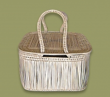 African Picnic Basket Medium