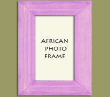 Wood Photo Frame Lilac