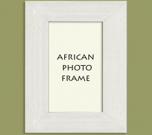 Wood Photo Frame White