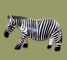 Zebra Wood Carved Small