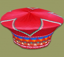 Zulu Hat Traditional	Red.2