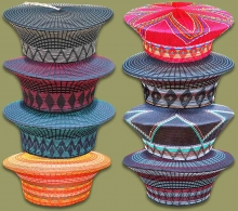 Mixed Zulu Hats