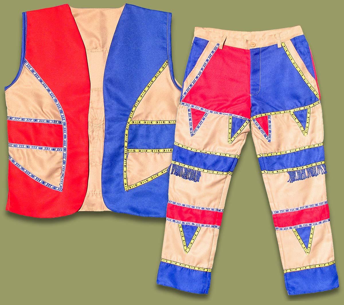 umblaselo zulu mens trouser waistcoat vest set wholesale