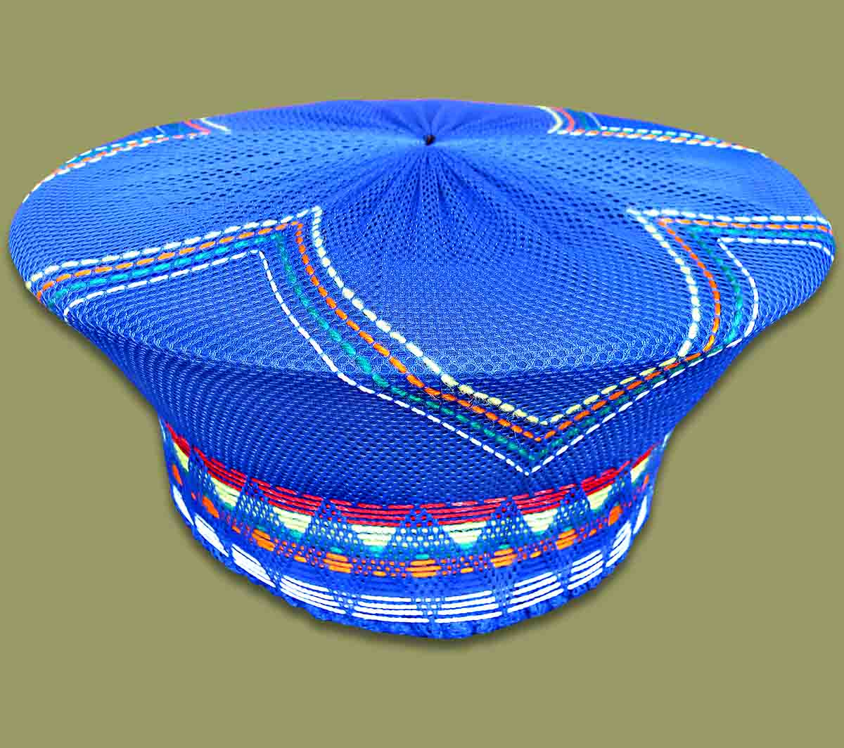 Zulu Hat Traditional	Blue