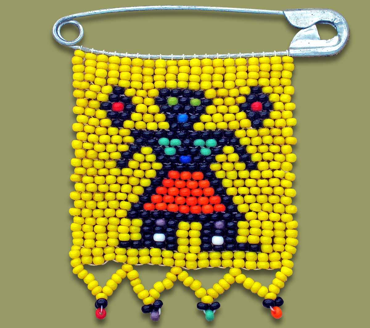 Zulu Love Letter Figure Yellow