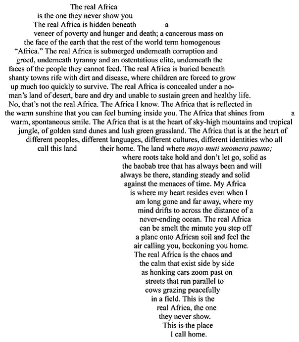 The Real Africa - a must read.