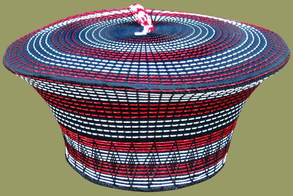 Zulu Hats From Kwa Zulu Natal, South Africa.