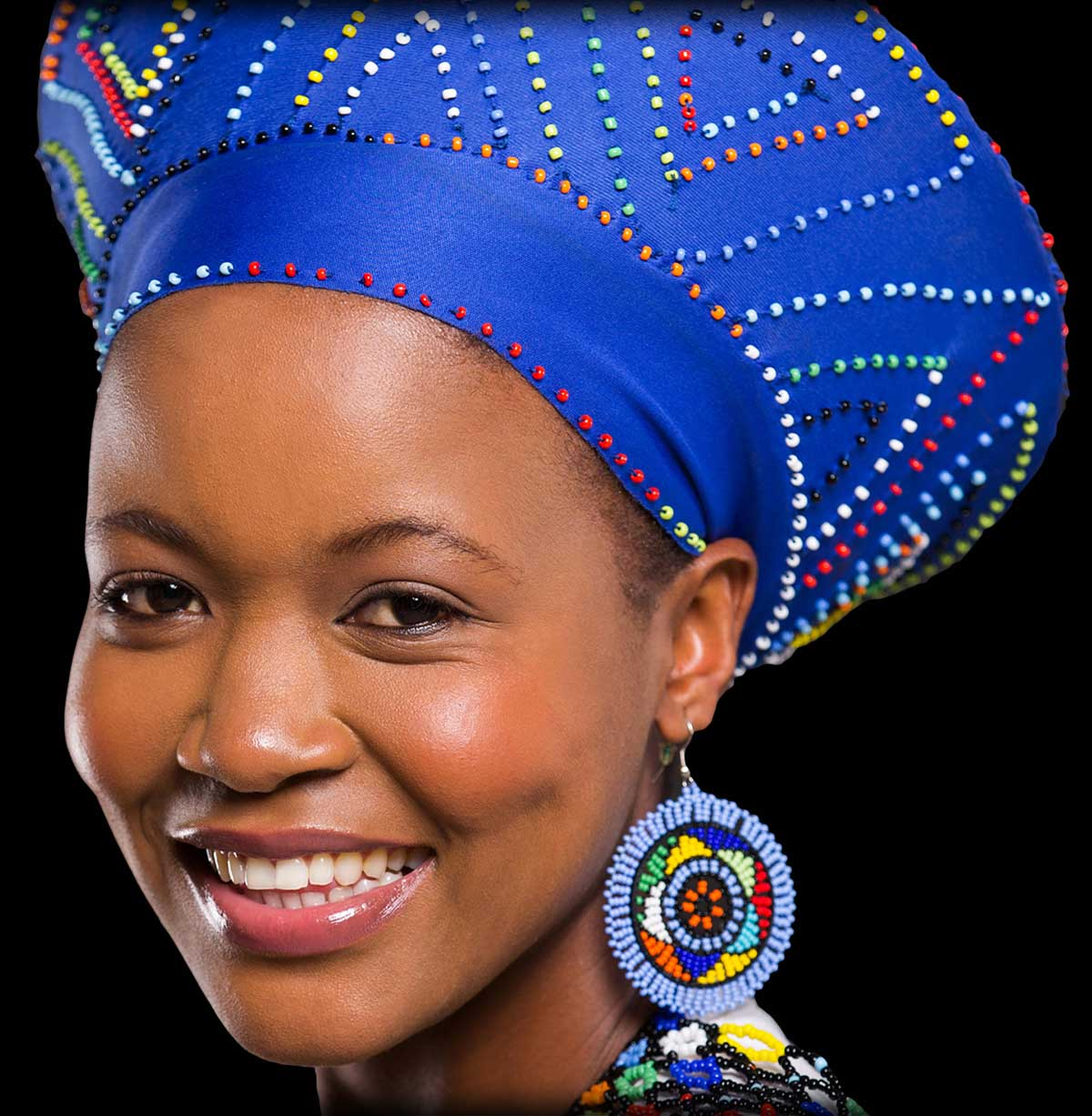 Zulu Hats hand made by the rural woman of Kwa Zulu Natal e615e7b9c13
