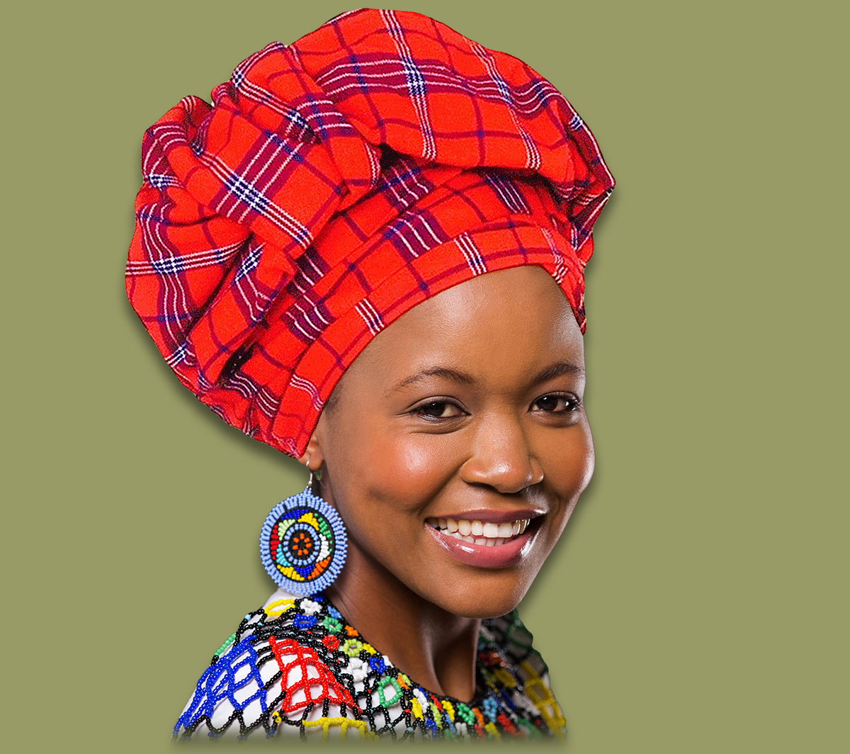 African Headscarf Headwrap Doek
