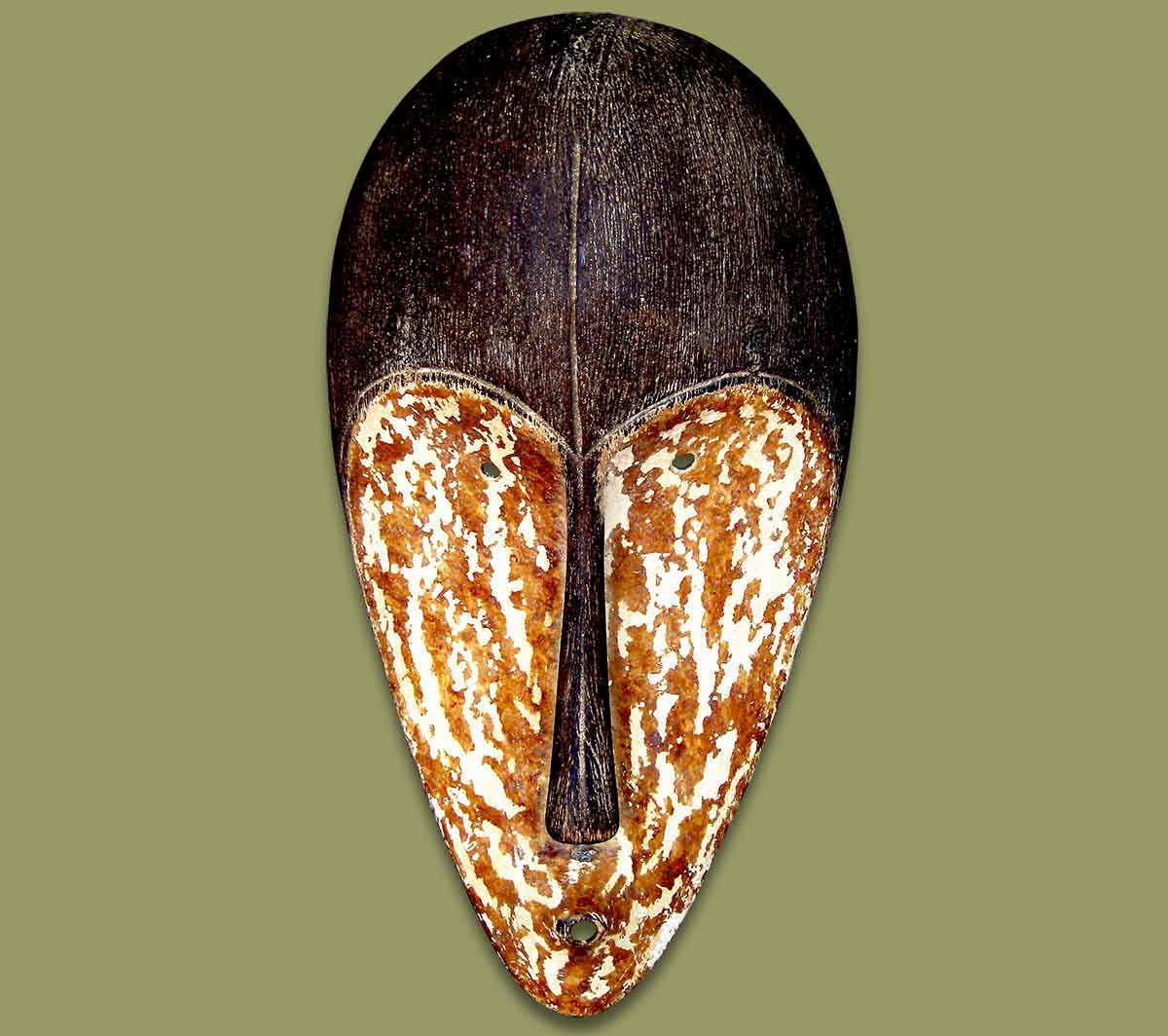 Masks From Africa: African Mask Fang Dark