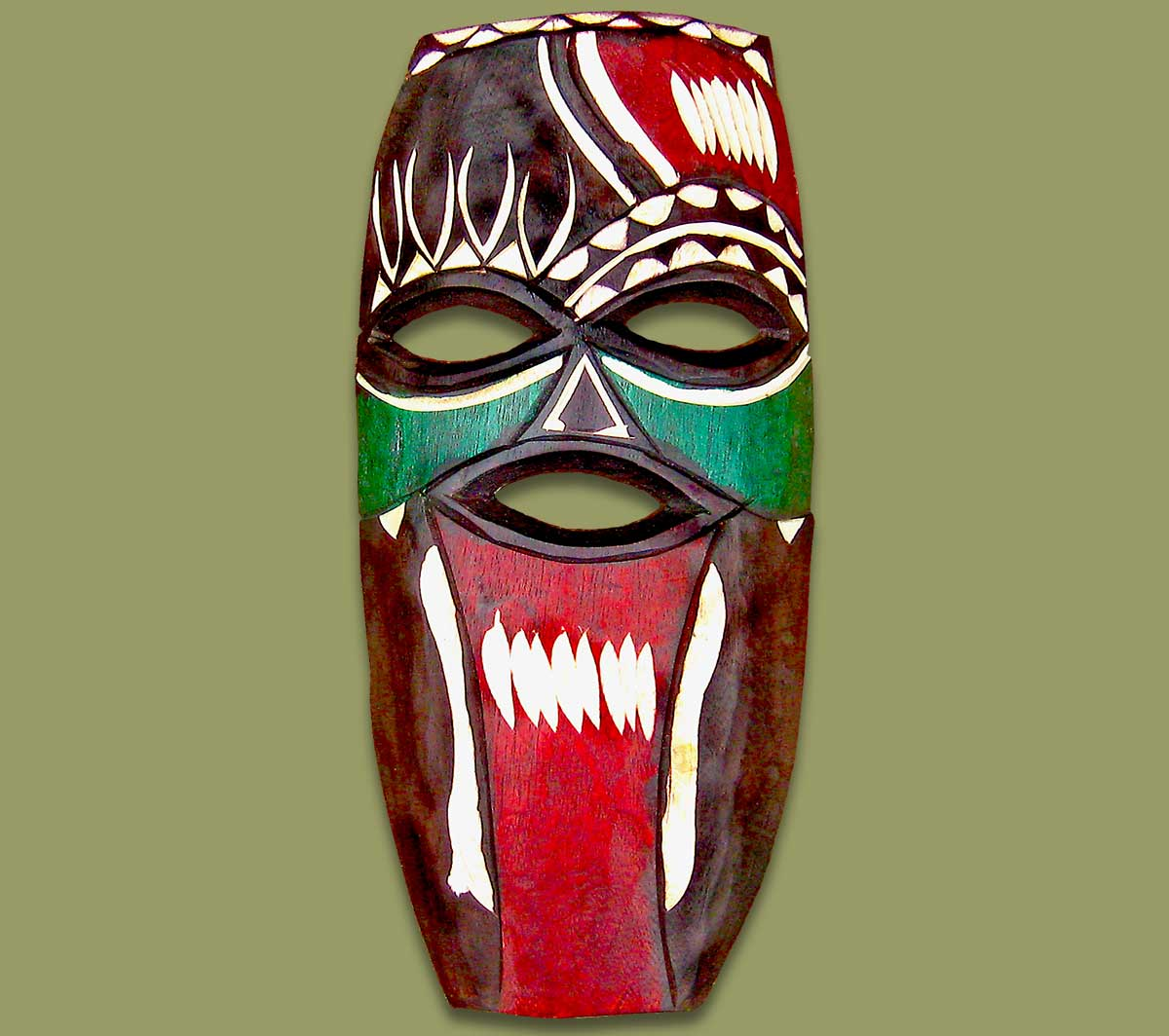 Masks From Africa: African Mask Swazi Small