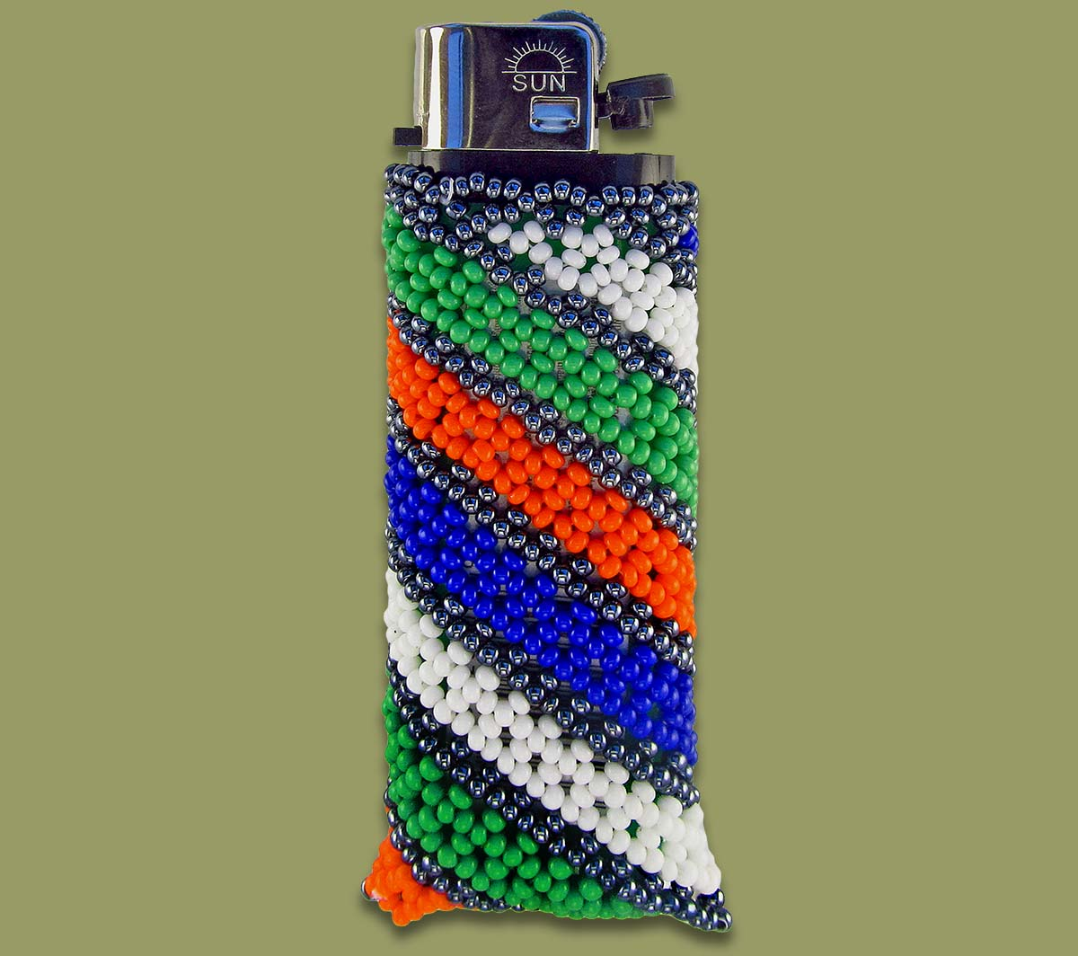 Beaded Cigarette Lighter.2