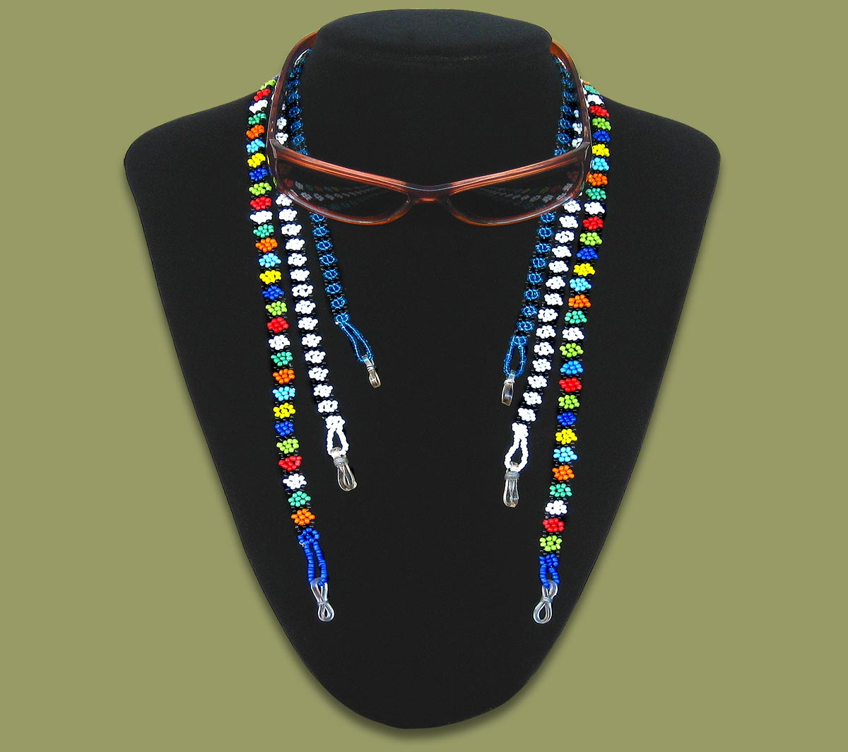 Beaded Sun Glass Lanyards