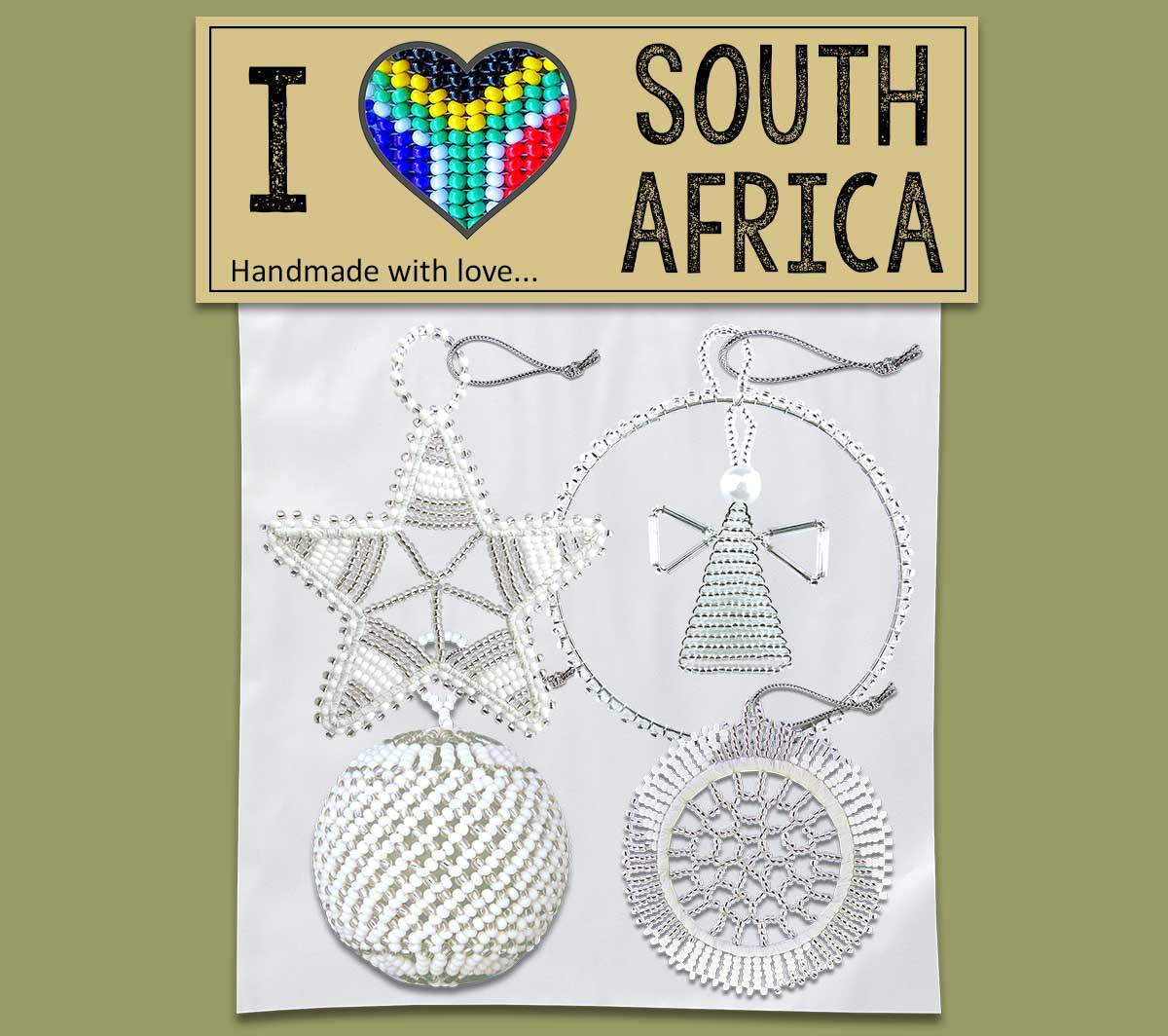 I Love SA Gift Pack (Christmas decorations)