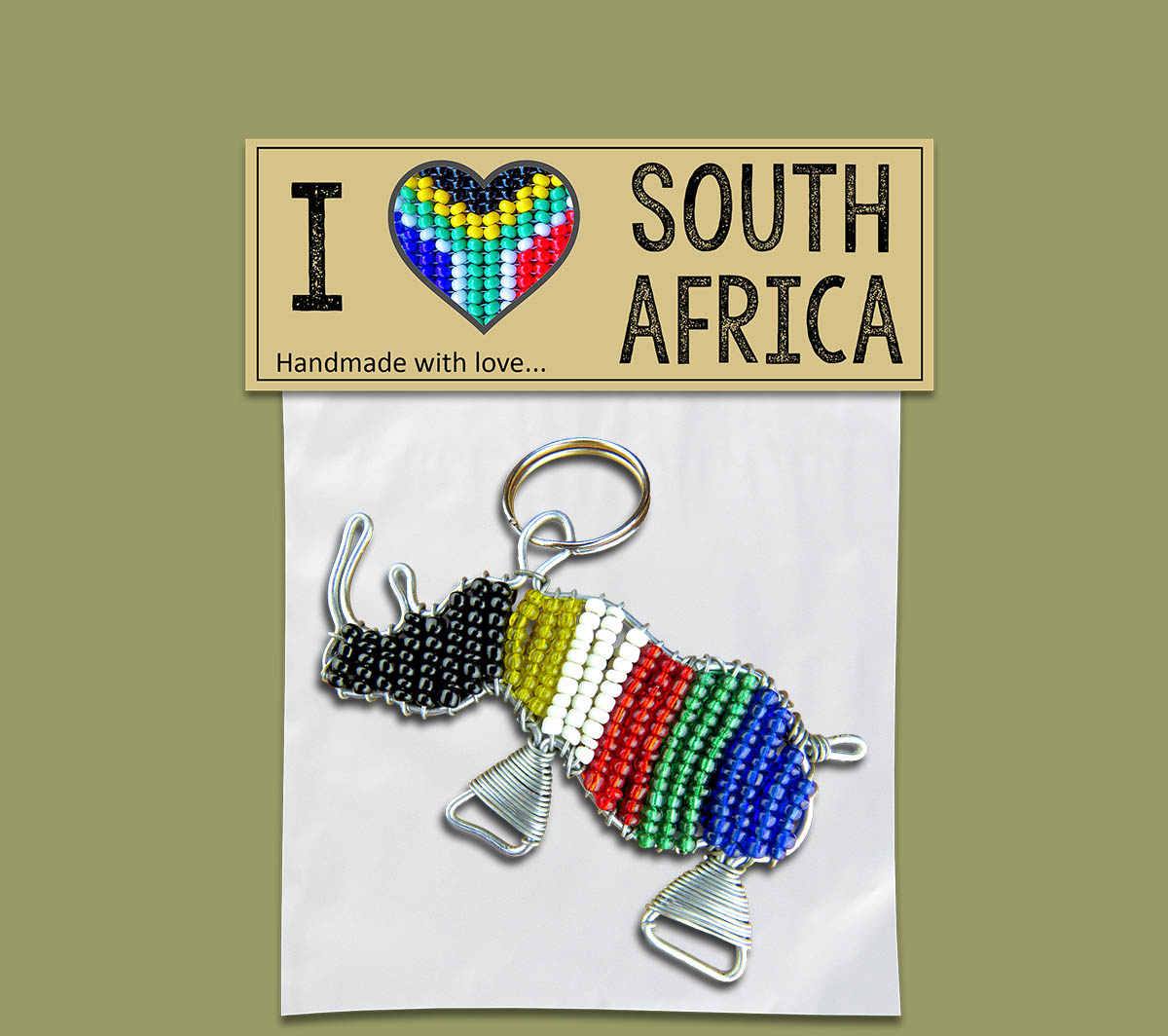I Love SA Gift Pack - Rhino