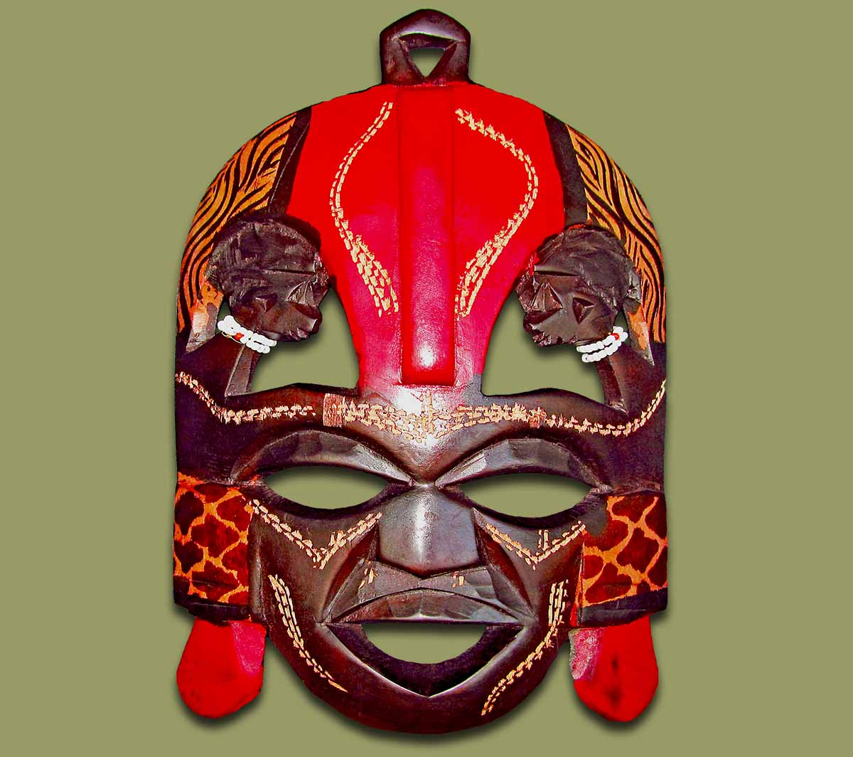 Maasai Kissing Mask Large